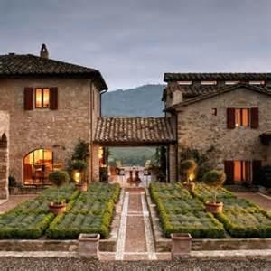 Italy Houses by Habitually Chic 174 Castello Di Reschio