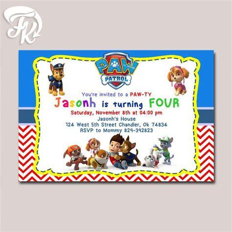 printable birthday card paw patrol 1481 best paw patrol toys images on pinterest paw patrol