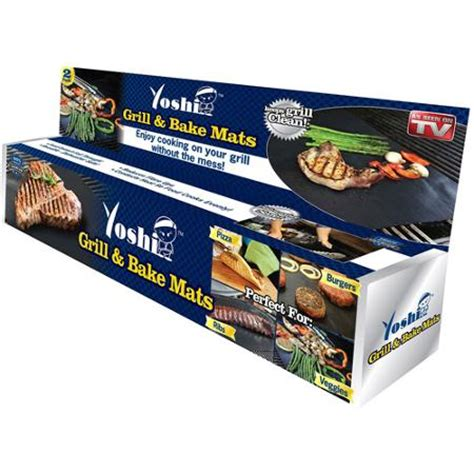 Tv Mat by As Seen On Tv Yoshi Grill And Bake Mat Walmart