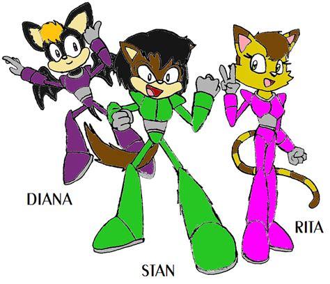 Kaos Sonic 02 lost sonic characters 04 by kaosjay666 on deviantart