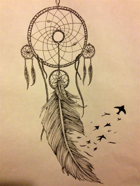small dream catchers tattoos my catcher idea tattoos