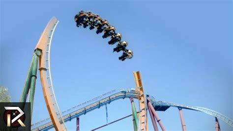 Top 10 Amusement Park Rides by The Most Terrifying Rides In The World