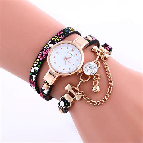 2966 fashion leather bracelet gold