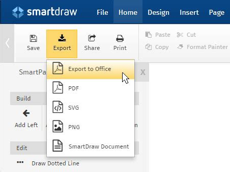 Floor Plan Software Free Templates Try Smartdraw Smartdraw Templates Free