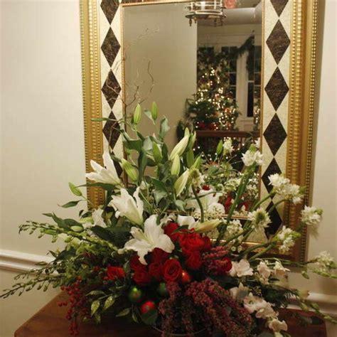 s day flower arrangements ideas valentines day flower arrangements with glass mirror