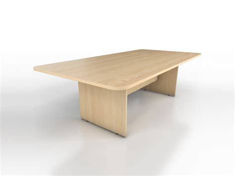Rectangular Meeting Table Maple Rectangular Meeting Table Icarus Office Furniture