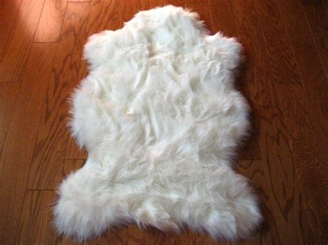 white fur rugs white faux fur rug 60 bedroom