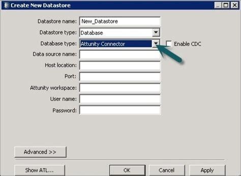 tutorialspoint oracle sap bods datastore overview