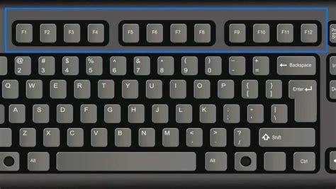 imagenes de un teclado del f1 al f12 para qu 233 sirve cada una de las teclas taringa