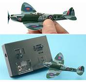 Peewee RC Spitfire Can Only Destroy Panzers Driven By