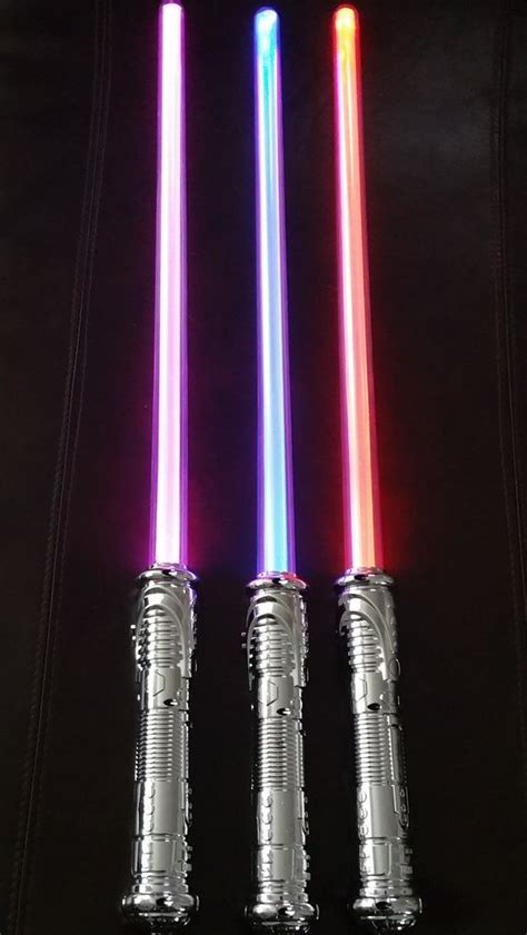 color change lightsaber 3 color changing saber sword motion activated fx