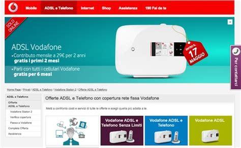 Promozione Adsl Casa by Adsl Vodafone In Promo Fino Al 17 Maggio Io Chiamo