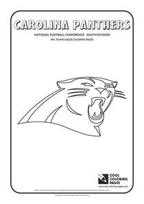 carolina panthers coloring pages carolina panthers nfl american football teams logos