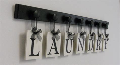 Etsy Laundry Room Decor Laundry Room Sign Wall Decor Personalized Hanging By Nelsonsgifts