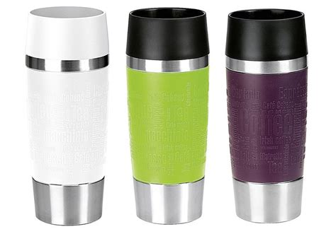 emsa travel mug thermobecher  ml farbe brombeer real