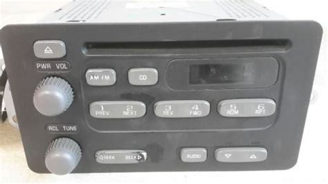 2004 Pontiac Grand Am Radio by Purchase 2004 Pontiac Grand Am Radio Am Fm Cd 10315120