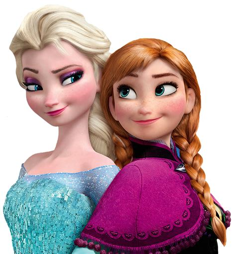 frozen sisters high resolution elsa and anna frozen sisters elsa anna png