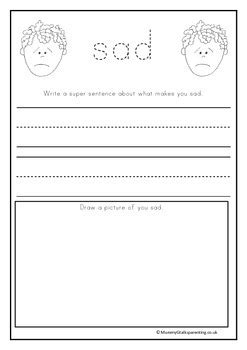 My feelings book. for prek and preschool by MummyG   TpT