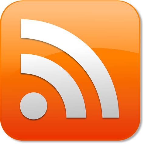 bloc flux free vector graphic rss news feed logo posts