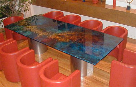 custom glass desk top glass for top full size of kitchen kitchen top
