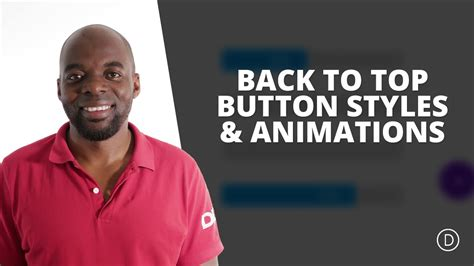 back to top free divi extension alternate back to top button styles