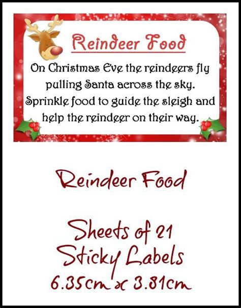 magic reindeer food note search results calendar 2015