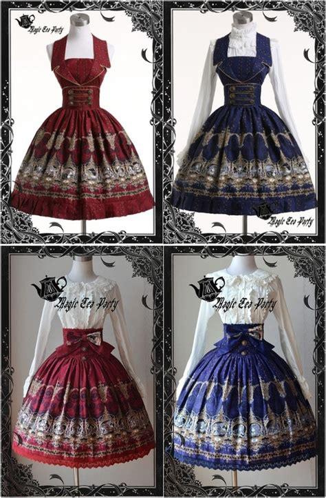 Jsk 126 Highwaist On Button magic tea dress styles