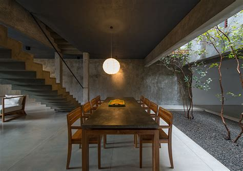 house lighting design in sri lanka palinda kannagara introduces nature into linear house in