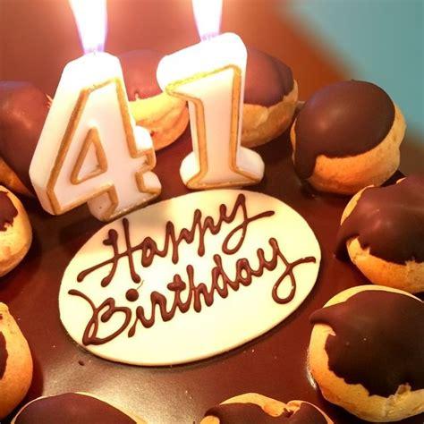 Happy 41st Birthday Wishes 41st Birthday Cake Images Happy Birthday Cake Images
