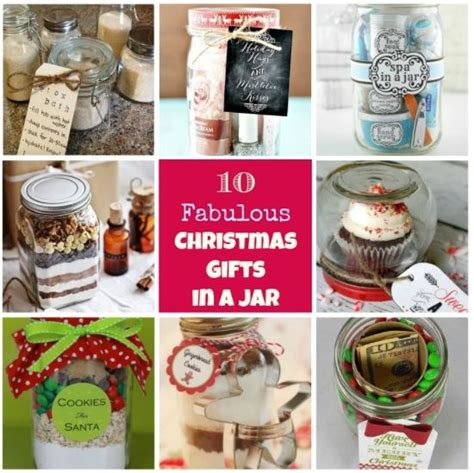 11 best 10 fabulous homemade christmas gifts in a jar