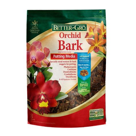 bett gro better gro 8 qt orchid bark 50190 the home depot
