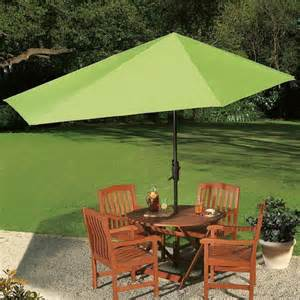 Patio Furniture With Umbrella Patio Umbrellas What To Consider Before Buying Furniture