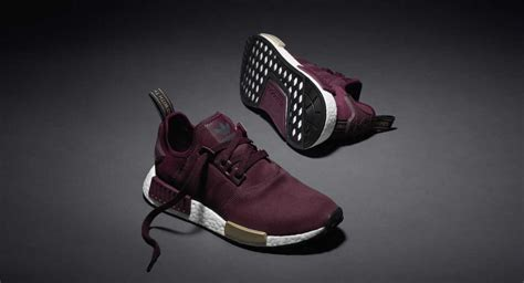 Adidas Nmd R1 Maroon Suede S75231 Authentic Original adidas nmd suede pack burgundy the sole supplier