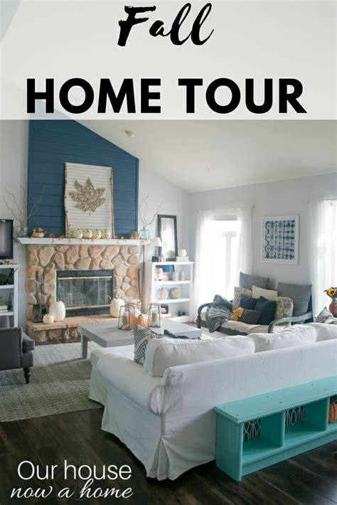 low cost home decor fall home tour our house now a home