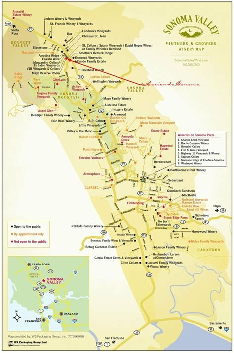 sonoma winery map sonoma valley wineries escape from