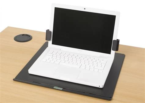 Securing Laptop To Desk by Laptop Secure Worktop Mount Top Tec Laptop Security