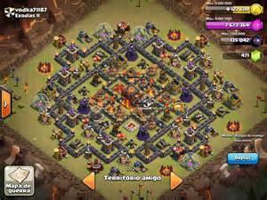 Town hall 10 war bases