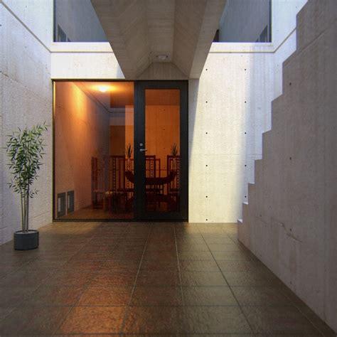 tadao ando row house sketchup model giveaway tadao ando s azuma house 3d