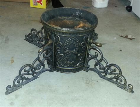 cast iron xmas tree cast iron tree stand for six dollars tree stands trees