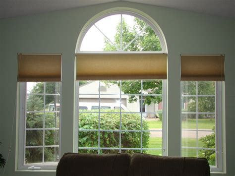 Arched Windows Pictures Before And After Another Way To Treat Arched Windows A Design Help