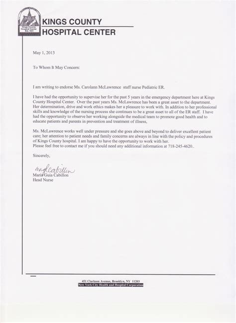 reference letter for nurse army franklinfire co