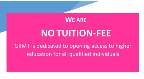Tuition Free Mba giimt punjab degree india world s tuition