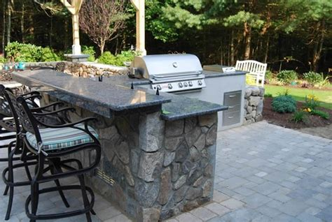 outdoor kitchen countertops granite countertops for outdoor kitchens masters