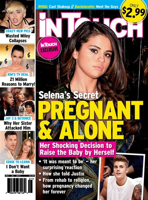 selena gomez pregnant and alone justin bieber revealed as