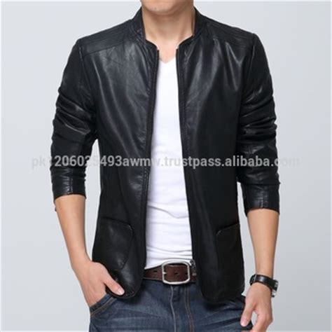 Jaket Kulit Sport 1 Size L plus size 3xl korean style mens jackets and coats slim fit stylish s pu leather jackets
