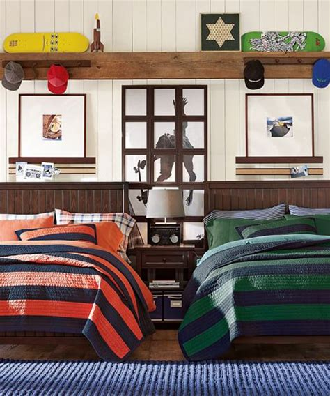 rugby stripe bedding rugby stripe bedding boys bedroom ideas pinterest