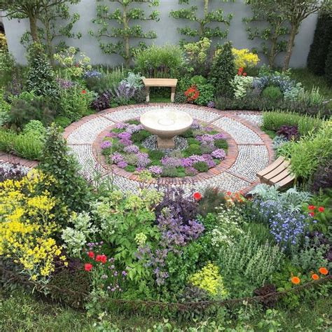 gardens flower and apothecaries on