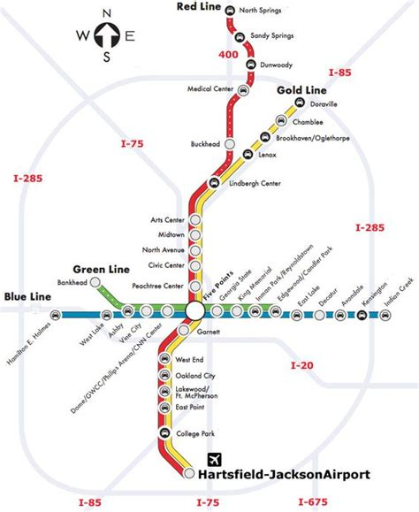 atlanta marta map atlanta marta map atlanta airport airports atlanta and maps