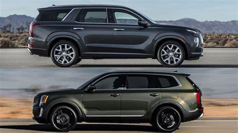 2020 Hyundai Palisade Vs Kia Telluride by Refreshing Or Revolting 2020 Kia Telluride Vs Hyundai