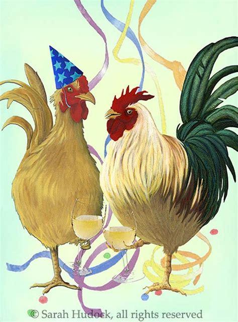 artwork  sarah hudock images  pinterest chicken art rooster decor  roosters